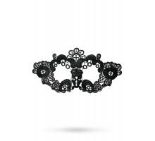 Маска нитяная Toyfa Theatre «Цветы», черный