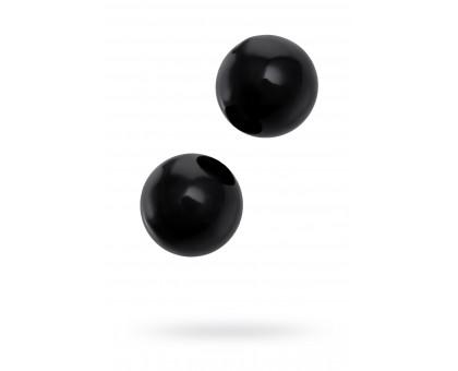 Вагинальные шарики Sexus Glass, Стекло, Чёрный, Ø см
