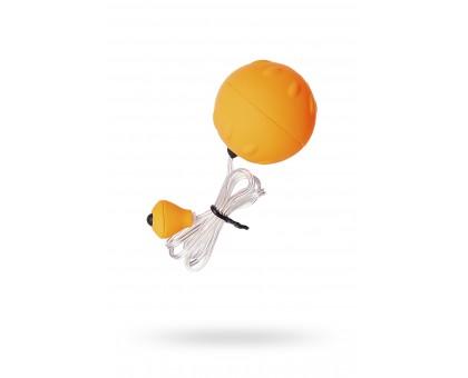 Виброяйцо Sexus Funny Five, ABS пластик, оранжевое, 4,5 см