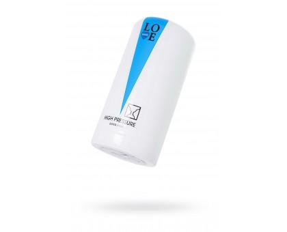 Мастурбатор нереалистичный Lovegame High pressure super hard, TPE, белый, 15 см